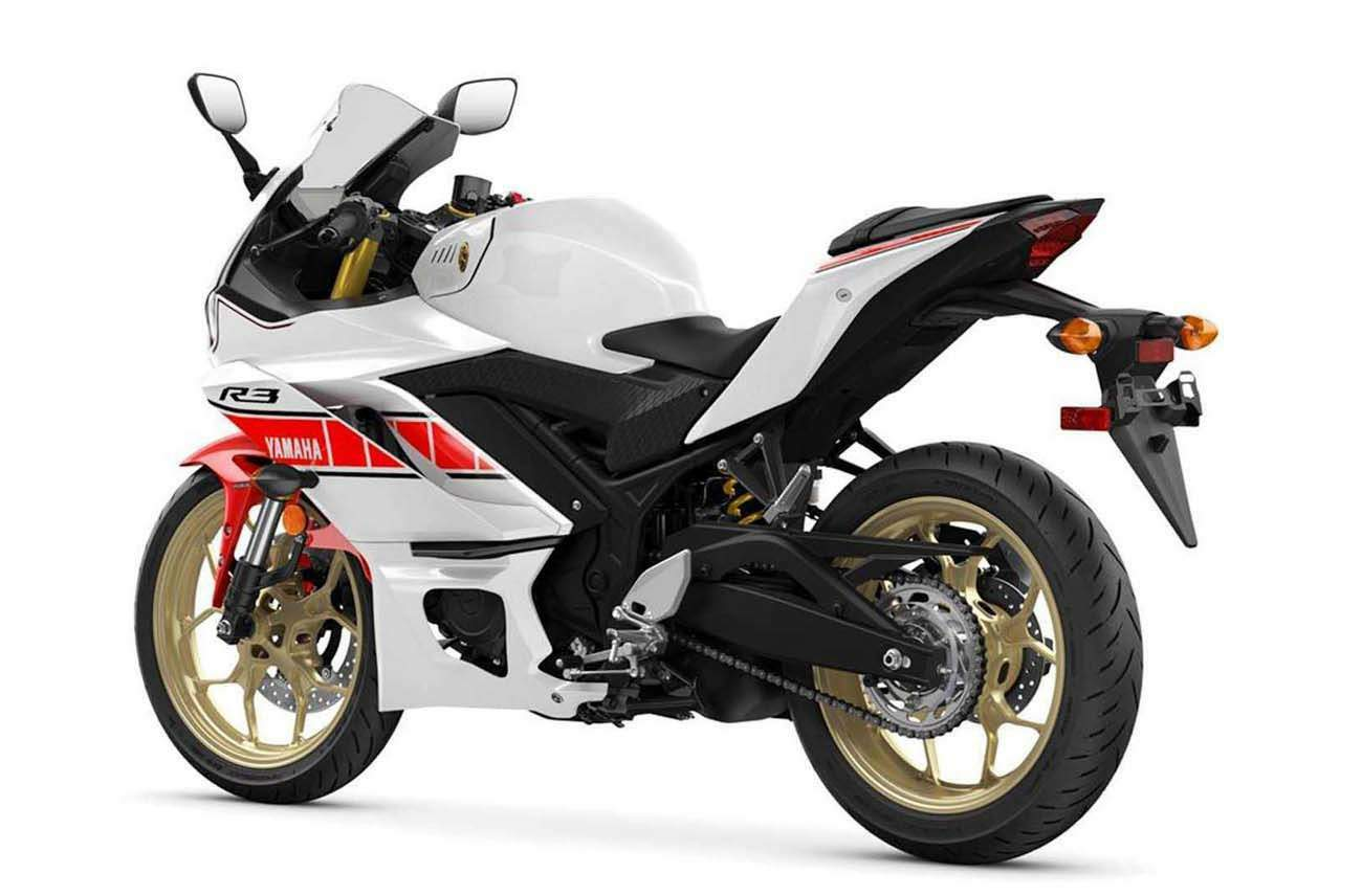 Yamaha YZF-R3 World GP 60th Anniversary Edition technical specifications